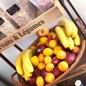 Pause fruitée au bureau 🍎🍑🍓  #fruitezvouslavie  —— #panierdefruits #entreprise #pausegourmande #healthyfood #summervibes #fruitsaubureau